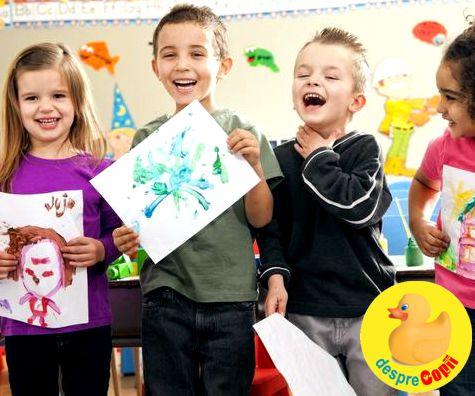 7 abilitati pe care educatorii le doresc la copilasii care incep gradinita