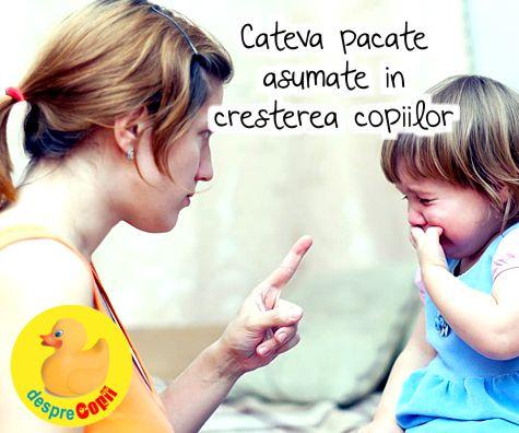 Cateva pacate asumate in cresterea copiilor sau parentingul ideal versus parentingul real