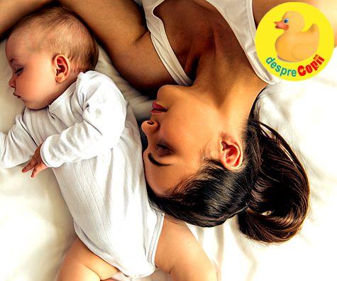 6 greseli ale mamicilor in ce priveste somnul lor