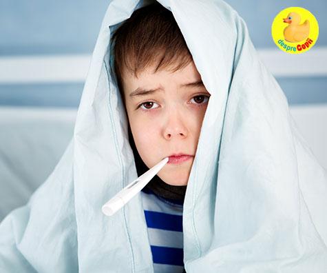 Cum stim ca gripa copilului devine serioasa si trebuie sa mergem de urgenta la spital