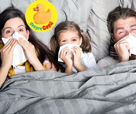 10 sfaturi pentru a evita raceala si gripa