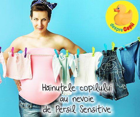 Cu ce spalam hainele bebelusului? Ce detergent alegem pentru hainele bebelusului?