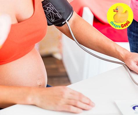Tensiune arteriala ridicata in timpul sarcinii: ce trebuie sa stii