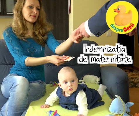 Indemnizatia de maternitate: cat si cum o poti obtine