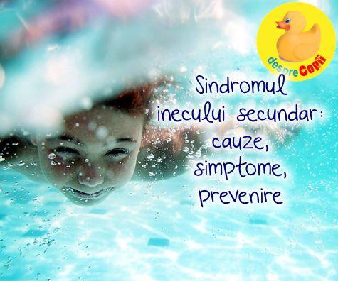 Sindromul inecului secundar – cauze, simptome, prevenire