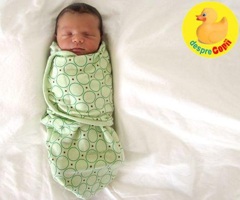 Infasatul: cinci motive pentru care bebelusul isi poate gasi mai repede calmul