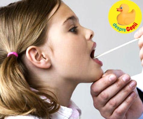 Infectiile streptococice respiratorii (cu streptococ)
