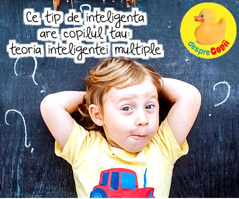 Ce tip de inteligenta are copilul tau: teoria inteligentei multiple
