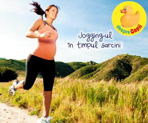 Jogging-ul in timpul sarcinii