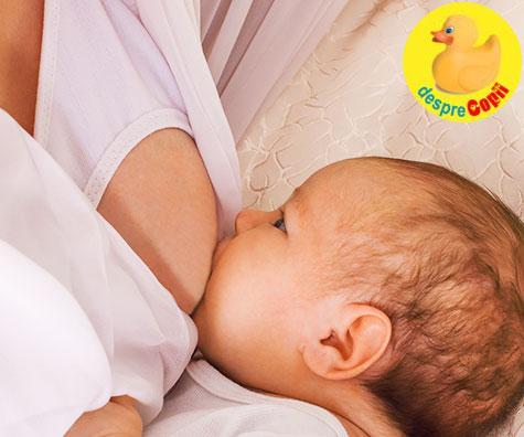 7 curiozitati despre laptele matern