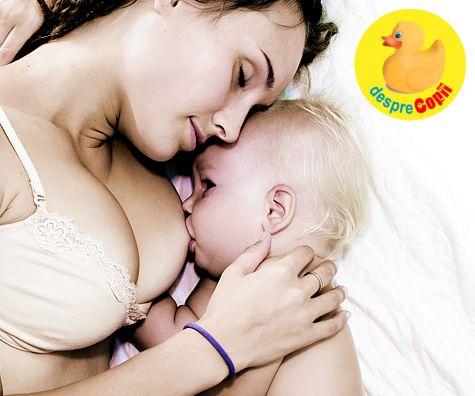 Laptele matern: ce contine si de ce este un diamant de sanatate pentru bebelus
