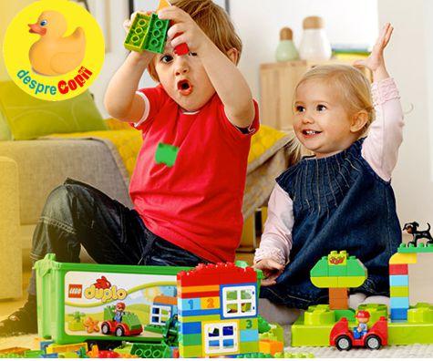 DUPLO si apoi LEGO: sau evolutia stimularii creativitatii copilului