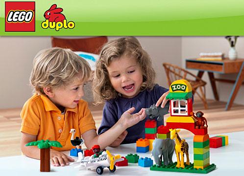 Copilul tau se dezvolta cu LEGO® DUPLO®
