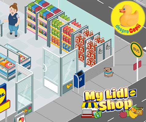 Cu LIDL, te poti juca si la cumparaturi!