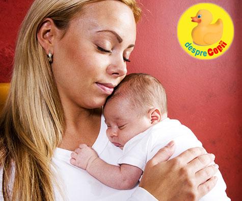 17 momente pe care doar mama unui nou-nascut le  poate intelege
