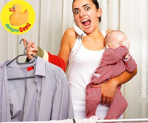 Exista timp liber pentru mamicile de bebelusi?