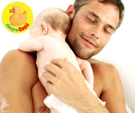 Masajul bebelusului � ghid pentru taticii incepatori
