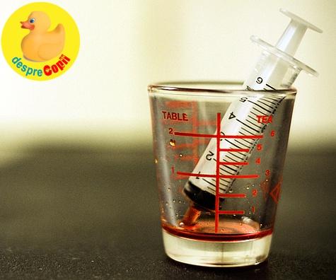 Sugari si copii: lucruri de retinut cand administram medicamente copiilor