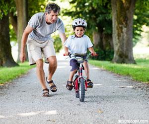 Copilul si bicicleta: reguli si sfaturi