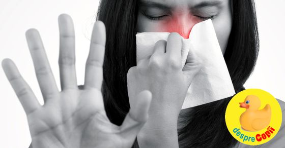 Ce picaturi de nas pot folosi in timpul sarcinii? width=
