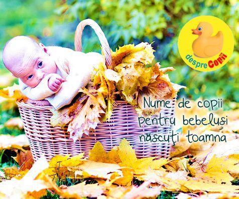 Nume de copii pentru copilasii nascuti toamna