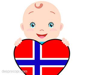 40 de nume de copii de origine scandinavica