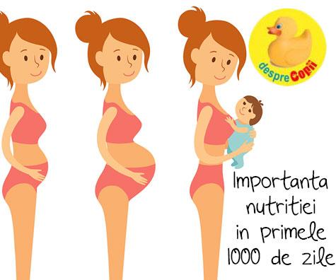 De ce sunt atat de importante primele 1000 de zile din viata unui copil