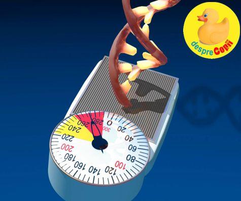 Obezitatea, intre stilul de viata si mostenirea genetica