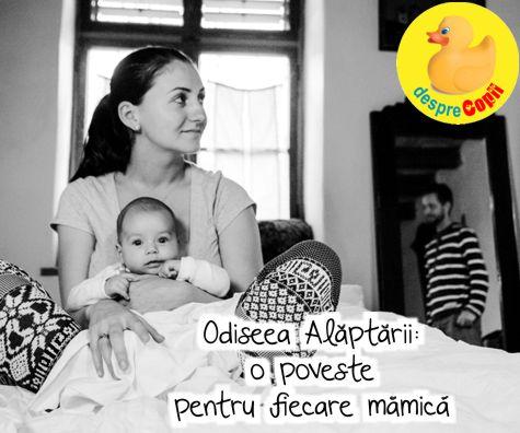 Odiseea Alaptarii: o poveste pentru fiecare mamica la inceput de drum...