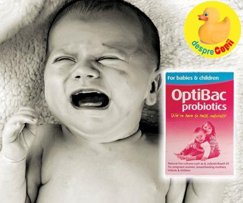 Cand colicile nu dau pace bebelusului: despre probiotice si stomacelul bebelusului