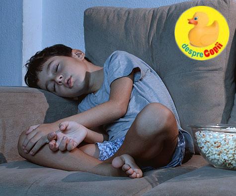 De ce nu e bine sa ii lasam pe copii sa-si aleaga ora de culcare