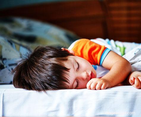 Cand ar trebui sa mearga scolarul la somn: diagrama orei de culcare