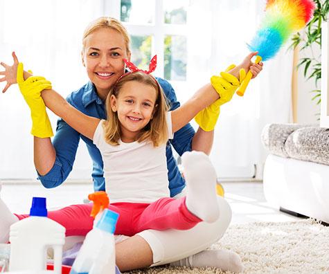 Idei de organizarea pentru mamici dezorganizate