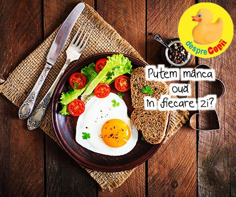 Putem manca oua in fiecare zi?