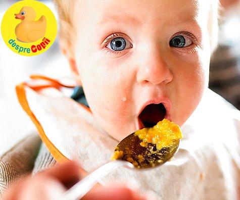 Prima mancare cu ou pentru bebelus: cand si cum