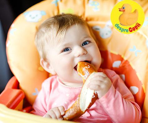 Cand dam paine bebelusului - iata ce trebuie sa stii