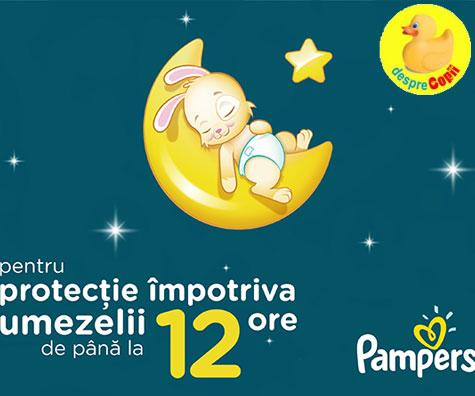 Pampers pune la culcare grijile parintilor legate de somnul bebelusilor
