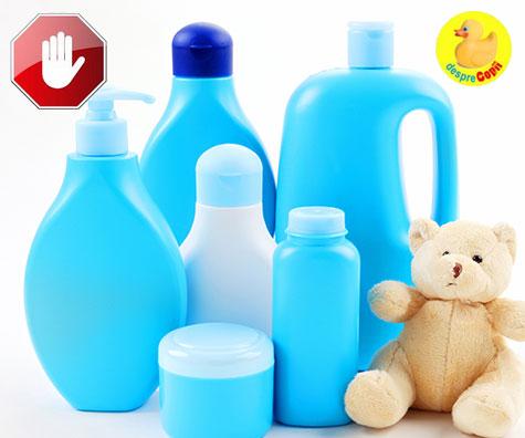Parabenii din produsele pentru bebelusi - ce trebuie sa stii