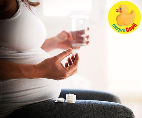 Paracetamolul in timpul sarcinii corelat cu problemele comportamentale ale copiilor