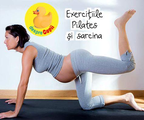 Exercitiile Pilates si sarcina