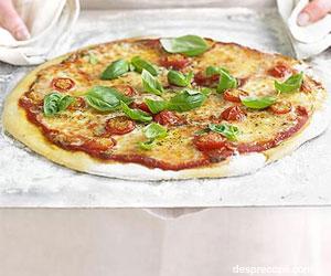 Pizza margherita in 4 pasi