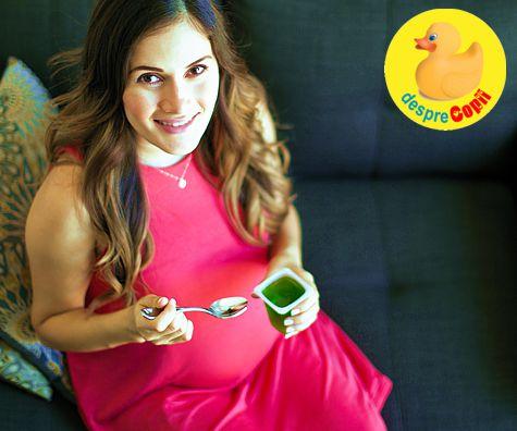 Poftele in timpul sarcinii: cauze si solutii