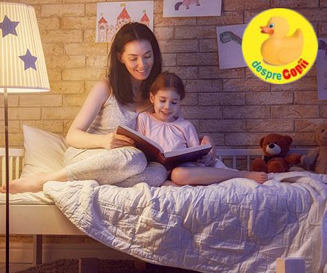 Povestile de seara imbunatatesc abilitatile matematice ale copilului