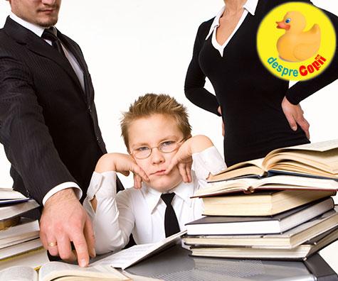Parentingul sub presiunea realizarilor versus caracter, valori morale si fericire - o dilema a educatiei