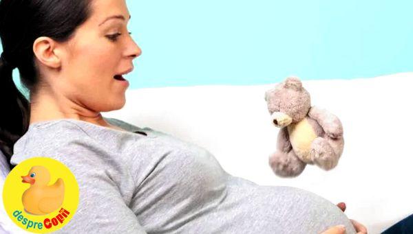 Primele miscari ale bebelusului in burtica sau despre surpriza primei comunicari cu bebe width=
