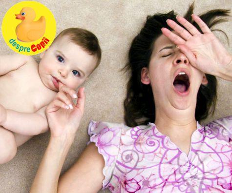 Primele 12 luni in noul rol de mamica