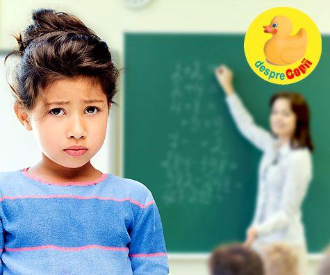 Clasele primare – frustrarile si nevoia de siguranta a copilului