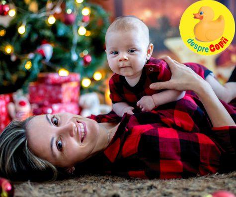 Primul Craciun al bebelusului tau: lucruri care au acum o alta semnificatie