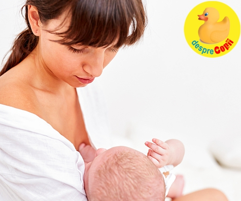 Programul de alaptare al unui nou nascut
