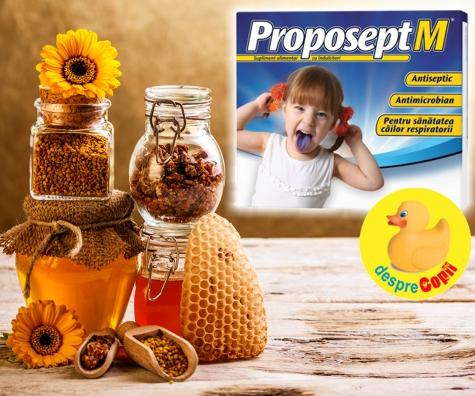 Durerile de gat ale copiilor: cum le putem face fata cu un produs cu extracte naturale